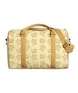 Vietsbay Women Flying Pig Printed Oversized Canvas Duffle Travel Bag - $44.49 CAD