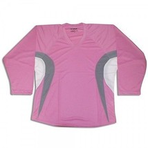 Pink Hockey Jersey  Dry Fit Edge Inspired      Pink/Gray/White - $15.81+