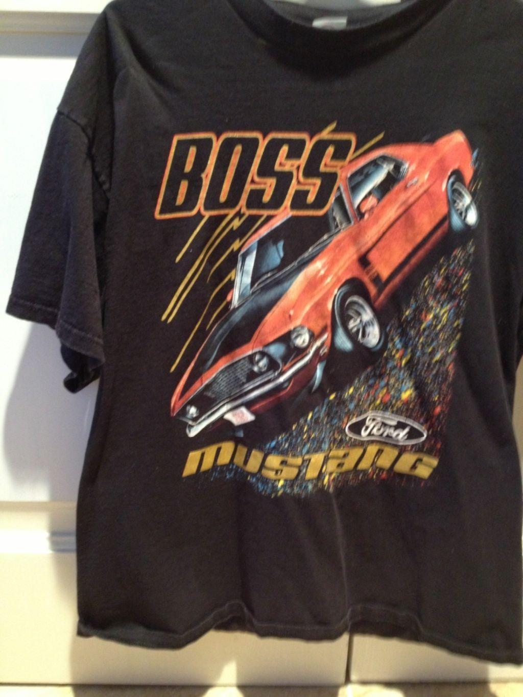 NEUF FORD MUSTANG BOSS T-Shirt