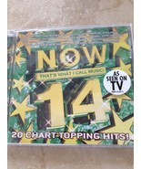 now that's what I call music #14 cd - $16.98