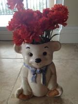 ceramic bear vase - $46.99