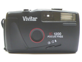 vivitar ic 1200 focus free camera - $79.99