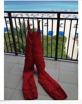 Red Snow Ski Bib Pants By Alpine Designs Size Large - $69.99