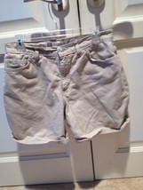 Womans Tan Jean Shorts By Faded Glory Size 12 - $19.99