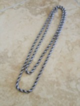vintage jewelry necklace to wear as single or double strand - $64.99