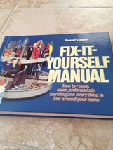 readers digest fix it yourself manual  hardcover - $16.99