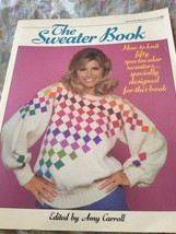 the sweater book by Amy Carroll softcover - $16.99