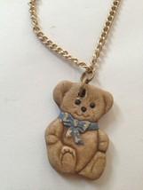 Teddy Bear Necklace - $24.99