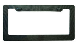 Carbon Fiber License Plate Frame - $15.59