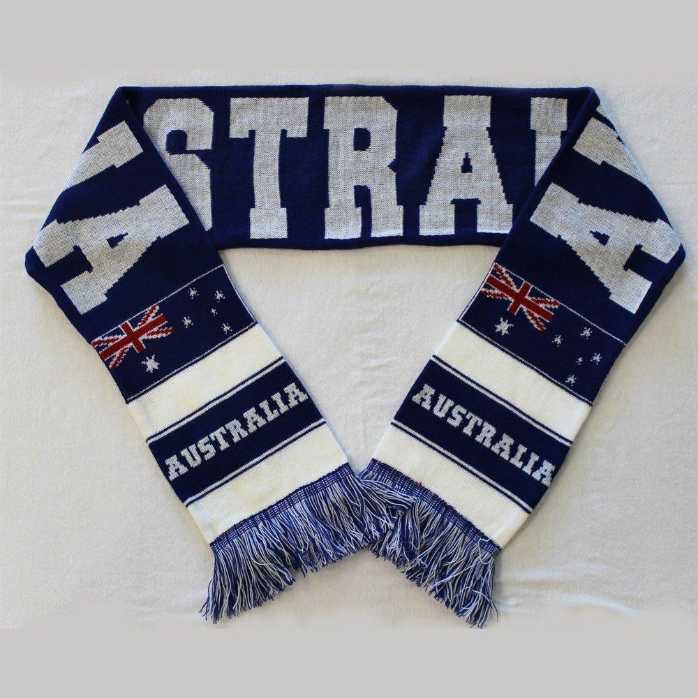 Australia knit scarf 1