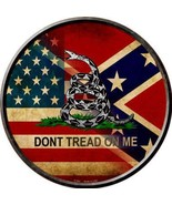 Dont Tread on Me Confederate and American Flags... - $24.99