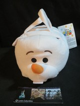 Olaf Frozen Fever Tsum Tsum Plush Bag set Snowgie Anna Elsa Sven mini 3.... - $42.39