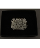 Alice Seely 1998 Southwest Petroglyphs Pewter Pin/Brooch  - $9.90