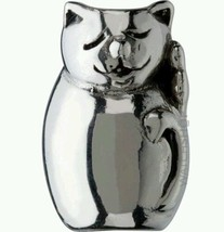 Authentic Chamilia 925 Sterling Silver Cat Bead Charm - £17.92 GBP