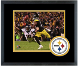 William Gay 2015 Pittsburgh Steelers - 11 x 14 Team Logo Matted/Framed Photo - $43.55