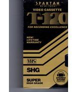 VHS  Video Tape Spartan By Hi-Tech Video Cassette T-120  VHS SHG (Super ... - $1.95