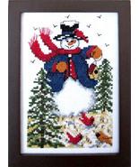 Winter Friends cross stitch chart Bobbie G Designs - $7.20