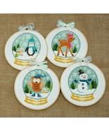 Winter Cuties 4 designs cross stitch chart Tiny Modernist Inc - $10.80