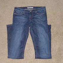 Joe's Jeans Rocker Fit Stretch Wash Distressed Boot Cut, Size W28, Women - $27.99