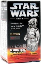 Star Wars Kubrick Series 6 RA-7 Mini Figure - $39.19