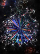 Space fantasy multicolor diamond crystal - Orig... - $3,000.00