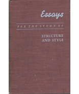 Essays For the Study of Structure And Style by Leo  Saidla Professor of ... - $3.95