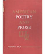 American Poetry and Prose (1960) - $5.95