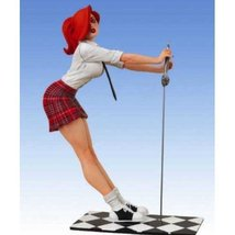 SDCC 2009 Exclusive PVC Statue Red Skirt Dawn - $59.77