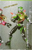 Masked Rider Verde Gd-83 Souuchaku Henshin Series Action Figure - $23.47