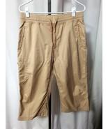 MAGELLAN Wms Tan Capri Cropped Cargo Pants NWOT... - $17.63