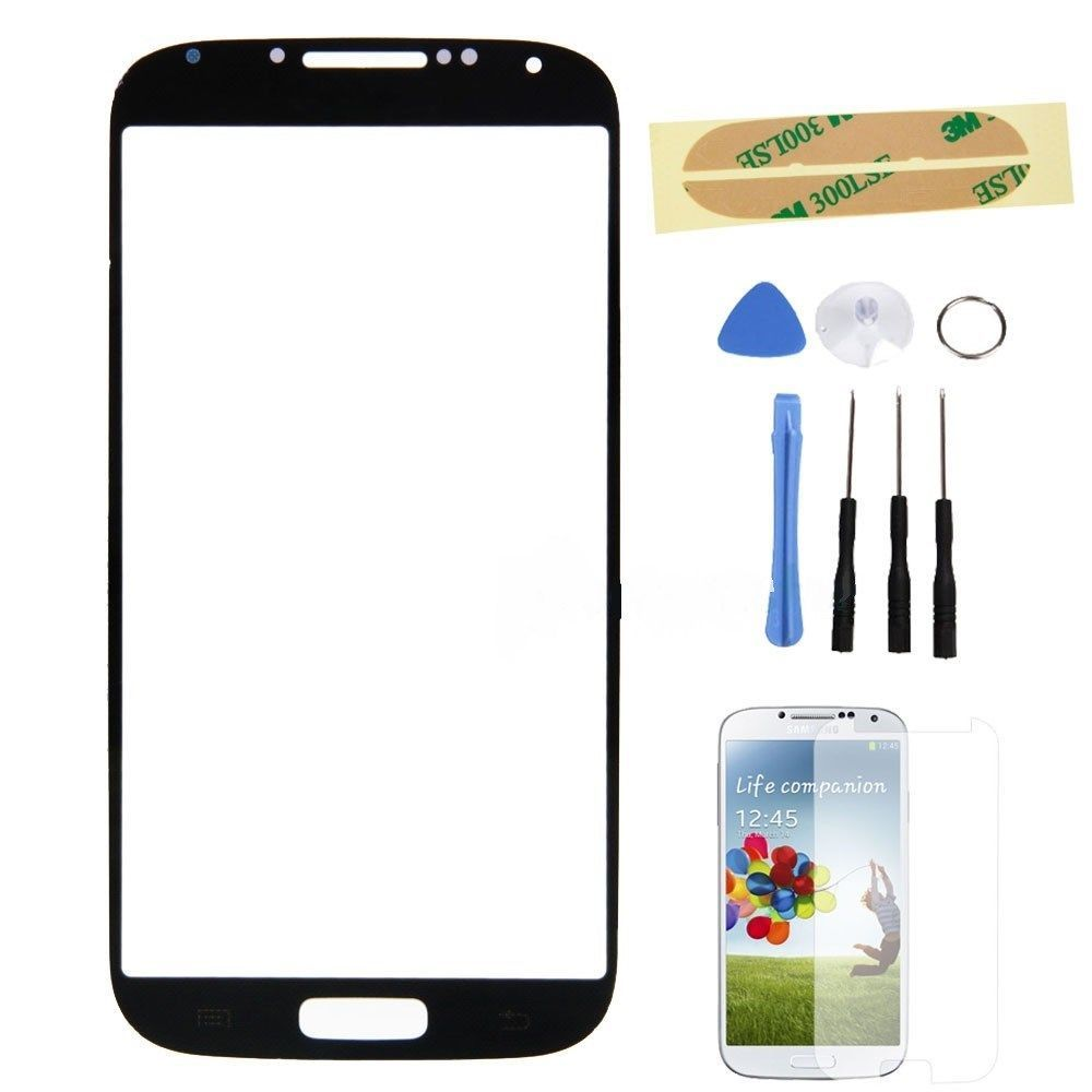 Used, Black Glass Screen replacement part tool for T-MOBILE Samsung Galaxy s4 SGH-M919 for sale  USA