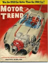 Motor Trend April 1956 '56 Oldmobile 88, De Soto, Bentley, Firebird II, ... - $9.01