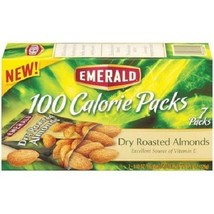 Emerald Dry Roasted Almonds 100 Calorie Packs - $8.70