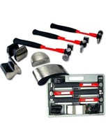 7 pc Heavy Duty Auto Body Repair Kit Hammer Fiberglass - $69.95