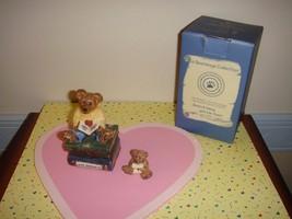 Boyds Bears Le Bearmoge Box Wilson With Love Sonnets  - $17.49