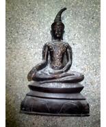 Very Rare! So Big Ancient Phra Ngang-Tadaeng Real Old Statue Thai Buddha... - $799.99