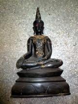 Very Rare! So Big Holy Phra Chai Gnang Tadaeng Statue Khmer Thai Buddha Amulets - $699.99