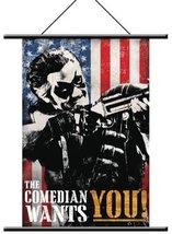 """Watchmen Wallscroll """"Comedian"""" Pop Art - $14.69"""