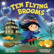 Ten Flying Brooms [Paperback] [Jun 30, 2015] Oliver, Ilanit and Poling, ... - $1.99