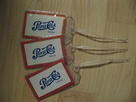 Pepsi Cola Luggage Tags - Repurposed Toledo OH Vintage Playing Card Name... - $19.79