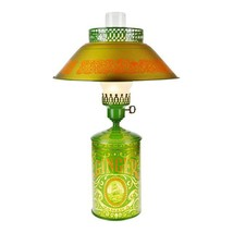 Vintage Ginger Spice Tin Table Lamp with Tole Shade - $195.00