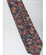 Beans McGee Tie - Colorful - Floral Pattern, Co... - $19.00