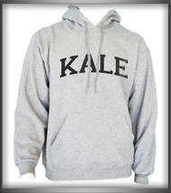 Kale Black Ink Unisex Pullover Hoodie Light Steel/Heather - $31.00+