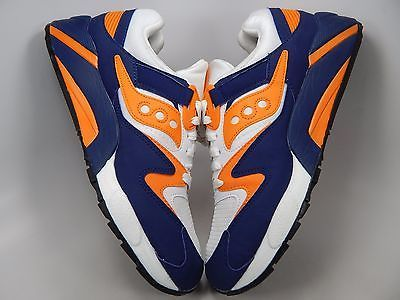 Saucony Grid 9000 Retro Men's Shoes Sz US 9 M (D) EU 42.5 White Blue S70077-35