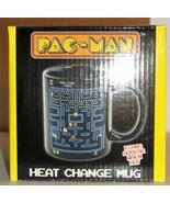 Nerd Block Exclusive Pac-Man Heat Change Stoneware Mug Brand New  - $9.95