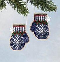 CLEARANCE Santa's Mittens Santa's Closet Ornaments 2006 ornament kit Mil... - $4.50