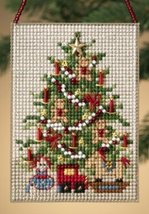 CLEARANCE Old Fashioned Tree Festival Trees 2010 charmed ornament kit Mill Hill - $4.50