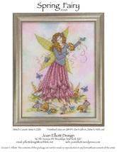 Spring Fairy JE001 cross stitch chart Joan Elliott Designs - $14.00