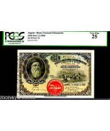 ANGOLA P29 1.3.1909 2500 REIS GRADED PCGS 25!  ONLY 1 BY ALL TO GRADING ... - $2,750.00