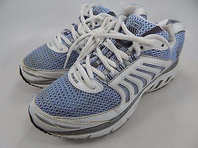 K-Swiss Keahou 1 Womens Running Shoes Size US 8.5 M (B) EU 40 White Blue
